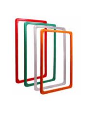 Molduras em Plástico Porta Cartazes