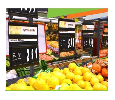 Porta Preço Frutas e Legumes